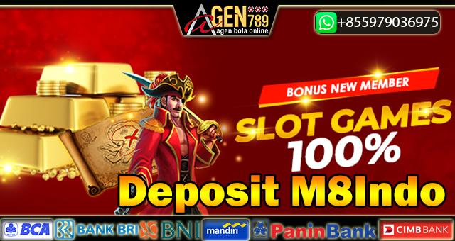 Deposit M8Indo